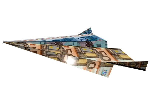 PLANE OF MONEY - 3D