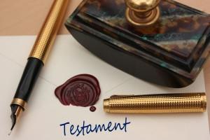 Testament - Lettre cachete